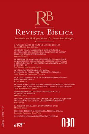 Revista Bíblica 2020/1-2 – Año 82 ABA, Asociación Bíblica Argentina