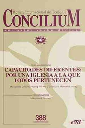 Capacidades Diferentes: Por Una Iglesia A La Que Todos Pertenecen. Concilium 388