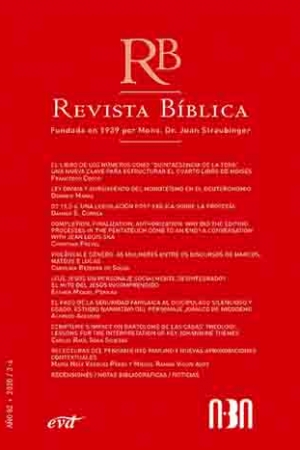 Revista Bíblica 2020/3-4 – Año 82 Asociación Bíblica Argentina